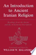 An Introduction To Ancient Iranian Religion