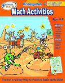 Hooked on Math Kindergarten Math Activities Workbook Book