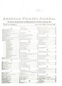American Poultry Journal