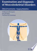 Examination And Diagnosis Of Musculoskeletal Disorders