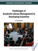 Challenges of Academic Library Management in Developing Countries Book