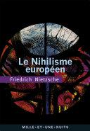 Pdf Le Nihilisme européen Telecharger