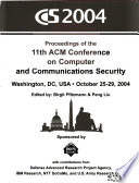 ACM Conference on Computer and Communications Security