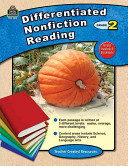 Differentiated Nonfiction Reading  Grade 2 Book
