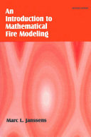 Introduction to Mathematical Fire Modeling, Second Edition