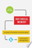 Rhetorical Memory