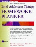 Brief Adolescent Therapy Homework Planner