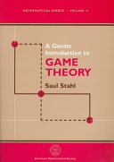 A Gentle Introduction to Game Theory Pdf