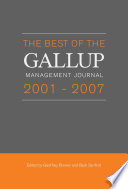 Read Online Best of the Gallup Management Journal 2001-2007 For Free