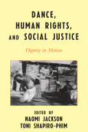 Pdf Dance, Human Rights, and Social Justice Telecharger