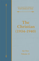 The Christian (1934-1940) [Pdf/ePub] eBook