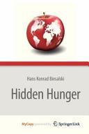 Hidden Hunger Book