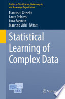 Statistical Learning of Complex Data