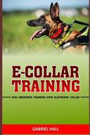 E Collar Training
