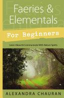 Faeries   Elementals for Beginners
