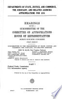 Departments Of State Justice And Commerce The Judiciary And Related Agencies Appropriations For 1976