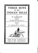Three Boys in the Indian Hills