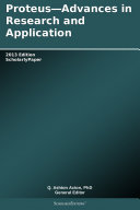 Pdf Proteus—Advances in Research and Application: 2013 Edition
