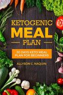 Ketogenic Meal Plan