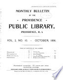 Bulletin of the Public Library Book