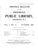 Bulletin of the Public Library
