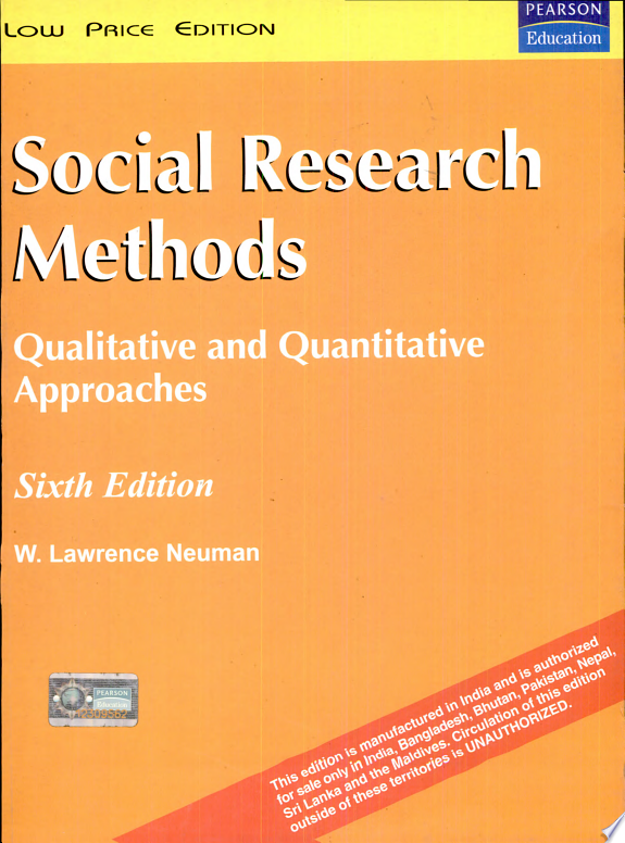Social Research Methods  6 E