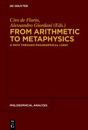 Pdf From Arithmetic to Metaphysics Telecharger