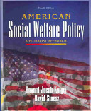 American Social Welfare Policy   Research Supplies Book PDF