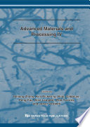 Advanced Materials and Processing IV Book