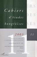 Visages de la Hongrie et métissages culturels européens Pdf/ePub eBook