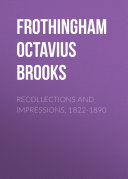 Recollections and Impressions, 1822-1890 Pdf/ePub eBook