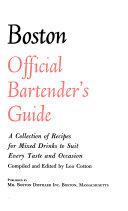 Old Mr  Botston de Luxe Official Bartender s Guide