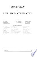 Quarterly of Applied Mathematics
