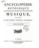 Encyclopedie Methodique