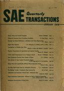 SAE Quarterly Transactions Book