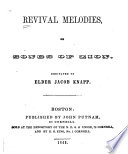 Revival Melodies  Or  Songs of Zion Book