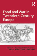 Pdf Food and War in Twentieth Century Europe Telecharger
