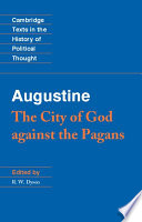 Augustine The City Of God Against The Pagans Book