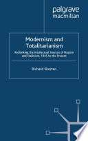 Modernism and Totalitarianism