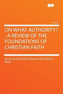 On What Authority
