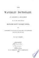 The Waverley Dictionary