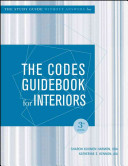 The Codes Guidebook for Interiors   W O Answers  Study Guide