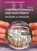 Cover of Corporate Finance and Investment