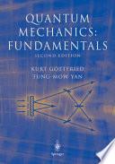 Quantum mechanics : fundamentals
