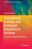 Pdf Transnational Activities and Immigrant Integration in Germany Telecharger
