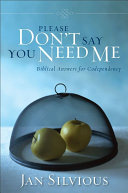Please Don't Say You Need Me ebook