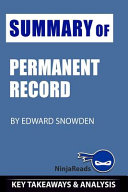 Summary of Permanent Record Book
