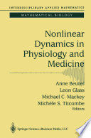 Nonlinear Dynamics In Physiology And Medicine Book PDF
