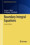 Boundary Integral Equations