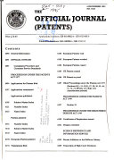 Official Journal (patents)